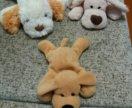 """Мягкие игрушки""""собачки"""""""