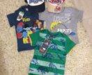 Новые футболки+ кепки