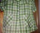 Летняя блузка большого размера