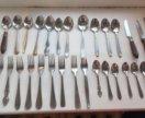 Столовые приборы( ложки, вилки, ножи)