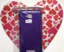 Чехол Asus zenfone 3 фиолетовый