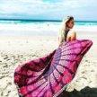 Полотенце пляжное круглое