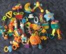 Детские игрушки, погремушки, прорезыватели, ночник