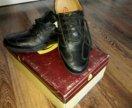 Мужские кожаные полуботинки
