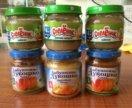 Детское питание пюре овощи мясо