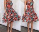 Платье DG в цветок, новое