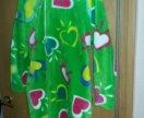 Тёплый халат с капюшоном