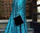 Платье из чешуи