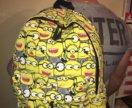 Новый рюкзак с Миньонами