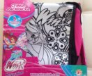 Новая сумка раскраска winx