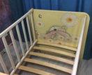 Детская кровать с 0-14 лет