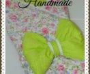 Конверт-одеяло на выписку, бортики в кроватку