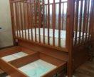 Кровать младенческая