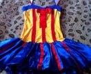 Карнавальное взрослое платье