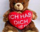 Немецкая мягкая игрушка мишка медвежонок медведь