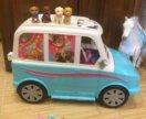 Раскладной автомобиль для щенков Barbie