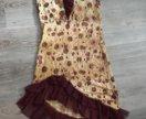 Платье с пайетками м