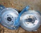 Задние тормозные диски новые audi q5 новое