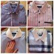 Брендовых мужские рубашки