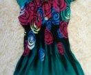 Летнее миди платье
