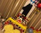 Голова микки мауса,декор,для дня рождения,год