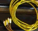 RCA провода- межблоки-тюльпаны
