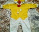 Карнавальный костюм цыплёнок р.80-92