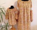 Одинаковые платья Шанель для мамы и дочки.