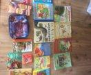 Книжки,наборы,игры,искусство,папка для тетрадей