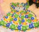 Платье на девочку р. 110
