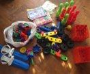 Большой пакет игрушек-конструкторы,книги