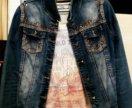 Джинсовая курточка женская