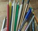 Карандаши, ручки