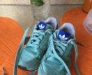 Кроссовки adidas натуральная замша 31 р