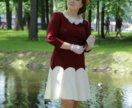 Новое романтичное платье с рукавами 48рр