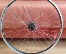 Колесо заднее на велосипед. 32 спицы