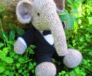 Слоник классический (вязанная игрушка)