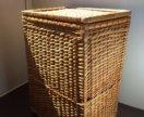 Плетеный ящик