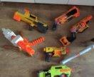 Бластеры Nerf и Bazz bi toys
