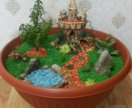 Мини сад в горшке ( мини растения, саккуленты)