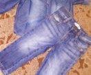 Продам джинсовую рубашку и джинсы