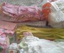 Пакет детской одежды о-3 на девочку