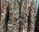 Куртка пуховик плащ на зиму 128 р