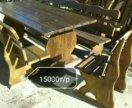 Стол , лавки, стулья