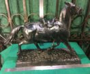 001-870 Скульптура Лошадь Казацкая