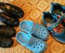 Пакет обуви б/у. 34 размер.
