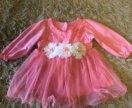 Платье на девочку , размер 68