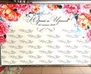 Press wall с уникальным дизайном на свадьбу. Жми!