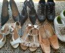 Пакетом обувь 38 р.