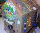 Бизиборд-дом. 6 развивающих стенок в одной игрушке